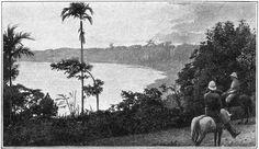 Het Manindjaoemeer in Midden Sumatra 1904.