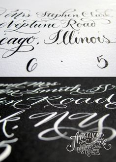 Angelique Ink interview besotted blog! Interested in modern calligraphy? Than you will want to read Angelique's interview!