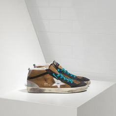 Mid Star Sneakers in Suede with Leather Star e7a6ede1e552