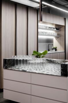 Monroe by DKO - Australian Interior Design Awards Australian Interior Design, Interior Design Awards, Cafe Restaurant, Restaurant Design, Best Kitchen Cabinets, Counter Design, Hospitality Design, Ikea, Cool Kitchens