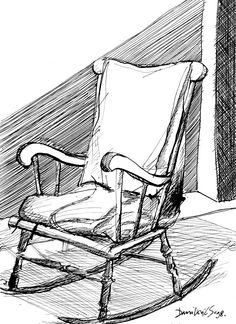 Rocking Chair Ink 1998