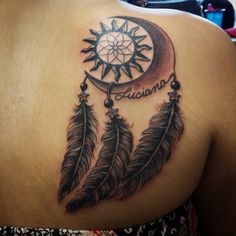 sun dream catcher tattoos - Google Search