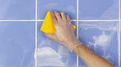 How to Clean Tile and Grout Diy Cleaning Products, Cleaning Solutions, Cleaning Tips, Cleaning Services, Diy Mould Removal, Painting Ceramic Tiles, Porcelain Tiles, Grout Cleaner, Cleaning Walls
