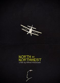 North by Northwest - Alfred Hitchcock, via Flickr.
