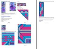 Mochila style tas roze blauw €5,00