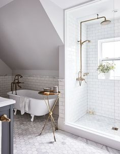 More click [.] Incredible Ideas Bathroom Clawfoot Tub Tile Shower Stunning Shower Ideas For Your Next Bathroom Beautiful Bathrooms And Bath Clawfoot Tub Losandes Home Amazing Ideas Clawfoot Tub Bathroom Pages House Picture Free Bathroom Remodel Pictures, Diy Bathroom Remodel, Bathroom Renos, Bathroom Flooring, Bathroom Renovations, Bathroom Interior, Bathroom Ideas, Bathroom Hacks, Next Bathroom