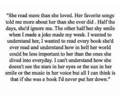 I will only give myself to the man that feels this way about me.
