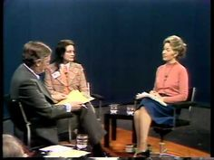"Firing Line with William F. Buckley Jr. ""The Equal Rights Amendment""  Phyllis Schlafly and Ann Scott Debate the ERA"
