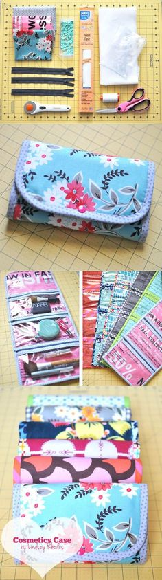 Convert size for picnic cutlery | Small cosmetic bag | DIY Stuff
