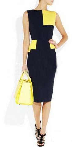 ANYTHING with navy is amazing. Yellow, kelly green, fuchsia...