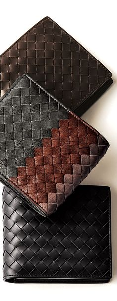 Bottega Veneta #wallet #leather