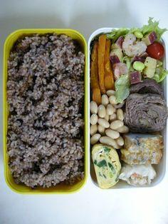 sweet potato salad   brown rice  20121011 Lunch