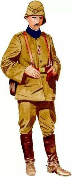 Turkish Army WW1, pin by Paolo Marzioli