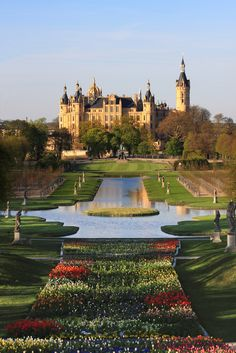 Schwerin Castle, Germany - built 1841 to 1853 photo shared by saturn ♄