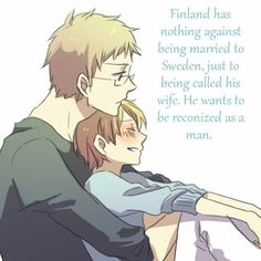 Hetalia Sweden and Finland Headcannon