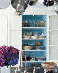 Paint Inside The Cupboards
