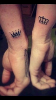 One of the best bonding experience a couple can ever have is to go get tattoos together, it's even better if they get romantically themed tattoos. Here is a gallery of some of our favorite couples tattoos and other romantic ink.
