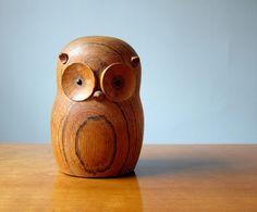 Owl Designed by Gunnar Flørning for Laurids Lønborg Pinned by www.myowlbarn.com