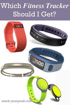 Which fitness tracker should you get? Here's info on a bunch!