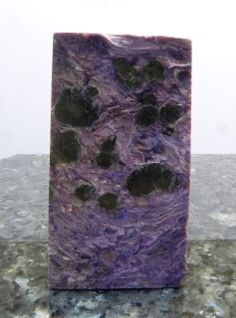 Charoite Slab.  Miner's Gems and Minerals