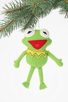 The Muppets Plush Ornament :) omg kermittt!!! <3 :*
