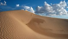 """Samalayuca Dunes, Chihuahua, Mexico - An appropriate setting for a story called """"Dune."""""""