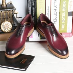 Find More Men's Casual Shoes Information about TERSE_2016 designer shoes handmade leather dress shoes Italian genuine leather oxfords in blue/ burgundy flat shoes custom logo,High Quality oxford free,China oxford handbag Suppliers, Cheap oxford style shoe from TERSE Official Store on Aliexpress.com