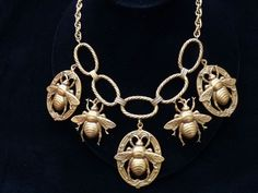 Bee necklace by Joseff of Hollywood