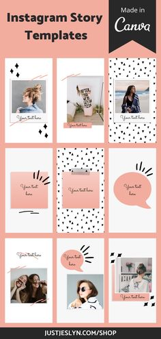 Canva Instagram story templates that up your Instagram game!! Every Instagrammer and blogger needs to use these Instagram story templates--they will give your Instagram a unique aesthetic, attract new followers, and engage current followers! #instagramstorytemplates #instagramtemplates #canvatemplates More Followers On Instagram, Find Instagram, Instagram Design, Instagram Tips, Instagram Advertising, Instagram Marketing Tips, Instagram Templates, Instagram Story Template, Instagram Schedule