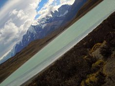 Germán Vogel posted a photo:  [Punta Arenas, Magallanes y Antartica Chilena, Chile] Full expanse of the Patagonia natural landscape, from the steppe and glacial lakes to the snowed Andes mountain peaks and wild clouds formed from the winds that meet between the Atlantic and Pacific oceans.  Follow my photos in Facebook  ©2017 Germán Vogel - All rights reserved - No usage allowed in any form without the written consent of the photographer.