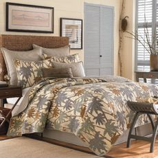 Tommy Bahama Drift Palm Quilt - Bed Bath & Beyond