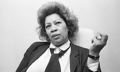 Toni Morrison, brilliant, sexy as hell
