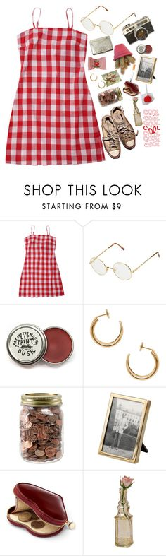 """Summer at Grandmother's +The Senses Tag!"" by sparkling-oceans ❤ liked on Polyvore featuring Persol, Maison Margiela, Tiffany & Co., Aspinal of London, Cultural Intrigue and vintage"