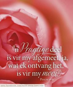 Psalm 16, Printable Quotes, Afrikaans, Positive Thoughts, Woman Quotes, Gods Love, Bible Verses, Inspirational Quotes, Positivity