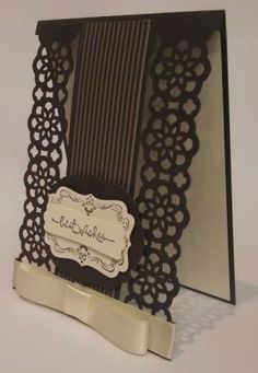 """Julia's Cards    """"I want the die cut boarder on this card. The card is beautifully made."""" Always with love Uniquely RA"""