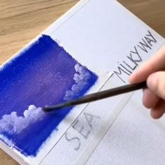 Simple Canvas Paintings, Small Canvas Art, Diy Canvas Art, Watercolor Paintings, Canvas Painting Tutorials, Painting Videos, Art Plastic, Cool Art Drawings, Pastel Art