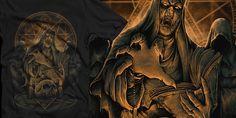 """evil nun"" t-shirt design by yellow mushi"