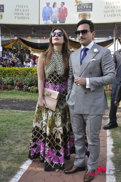 Saif and Kareena Khan Grace Kingfisher Ultra Indian Derby 2016
