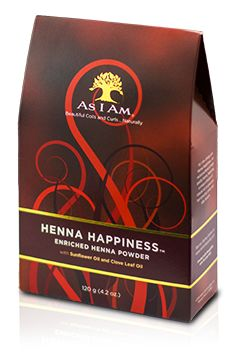 As I Am Naturally henna happiness for color