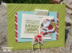 Merry Little Christmas | Stampin' Up! | Home for Christmas Suite |   Cozy Christmas #holiday #christmas #literallymyjoy