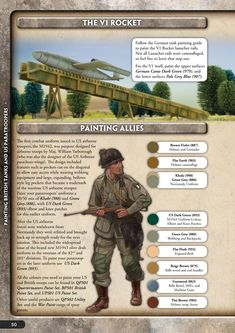 US Paratrooper Painting Guide