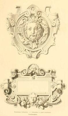 img/dessins meubles mobilier/cartouches (genre renaissance).jpg