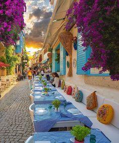 Welcome to Alacati – Izmir, Turkey! Mykonos, Santorini, Alacati Turkey, Bulgaria, Wonderful Places, Beautiful Places, Wonderful Picture, Istanbul, Ibiza