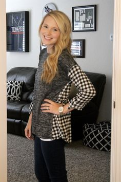 Madrid Mixed Material Knit Top  LOVE LOVE LOVE this top. It's perfect for the office and exactly my style.