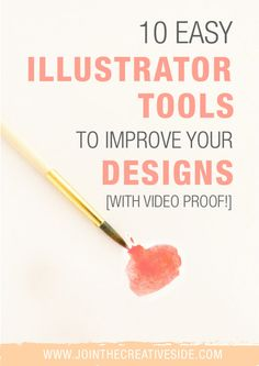 Improve your Graphic Design skills with these 10 easy Adobe Illustrator tools to improve your Graphic Design skills.