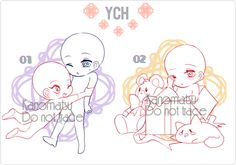 CHIBI YCH AUCTION |PENDING| by Kanomatsu