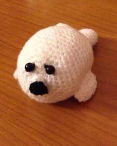 Cucciolo foca amigurumi