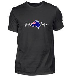 Australien Australien T-Shirt Form, Material, Mens Tops, Fashion, Australia, Cotton, Moda, La Mode, Fasion