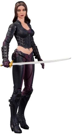 "TALIA AL GHUL ACTION FIGURE – 6.5""in. - Batman Arkham City Series 4"
