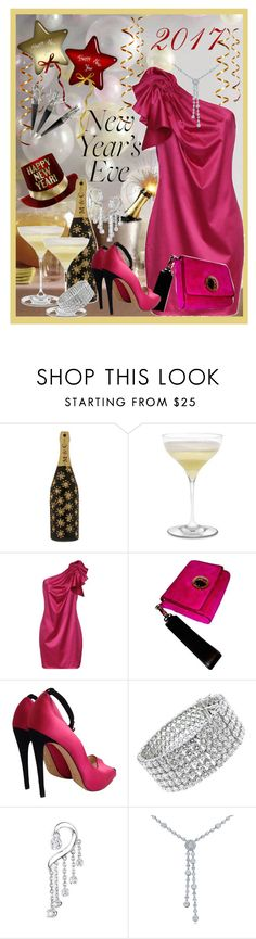 """""""~~ NEW YEARS EVE PARTY ~~"""" by queenofthegypsies ❤ liked on Polyvore featuring Marc Jacobs, Riedel, Kate Spade, Just Diamond and Tiffany & Co."""